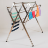 Flexi stainless steel clothes airer drying rack